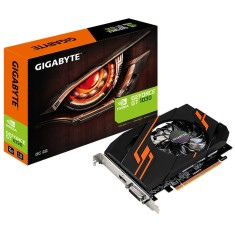 Foto Placa de Video NVIDIA GeForce GT 1030 2 GB GDDR5 64 Bits Gigabyte GV-N1030OC-2GI