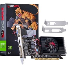 Foto Placa de Video NVIDIA GeForce GT 210 1 GB DDR3 64 Bits PCYes N21T2GD364LP