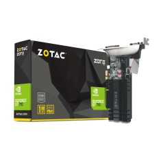 Placa de Video NVIDIA GeForce GT 710 1 GB DDR3 64 Bits Zotac ZT-71304-20L