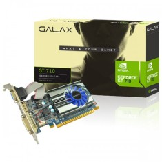 Foto Placa de Video NVIDIA GeForce GT 710 2 GB DDR3 64 Bits Galax 71GPH4HXJ4FN