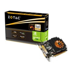 Foto Placa de Video NVIDIA GeForce GT 730 1 GB DDR3 128 Bits Zotac ZT-71104-10L