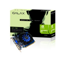 Foto Placa de Video NVIDIA GeForce GT 730 2 GB DDR3 128 Bits Galax 73GPF8HX3SNS
