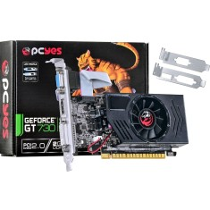 Foto Placa de Video NVIDIA GeForce GT 730 2 GB DDR3 128 Bits PCYes PGT73012802D3