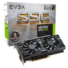 Foto Placa de Video NVIDIA GeForce GTX 1050 2 GB GDDR5 128 Bits EVGA 02G-P4-6154-KR