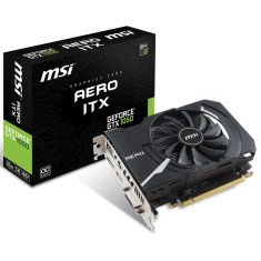 Placa de Video NVIDIA GeForce GTX 1050 2 GB GDDR5 128 Bits MSI GTX 1050 AERO ITX 2GB OC
