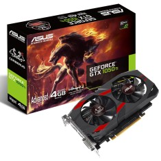 Foto Placa de Video NVIDIA GeForce GTX 1050 Ti 4 GB GDDR5 128 Bits Asus CERBERUS-GTX1050TI-A4G
