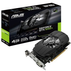 Placa de Video NVIDIA GeForce GTX 1050 Ti 4 GB GDDR5 128 Bits Asus PH-GTX1050TI-4G