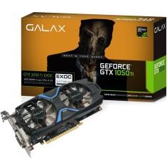 Placa de Video NVIDIA GeForce GTX 1050 Ti 4 GB GDDR5 128 Bits Galax 50IQH8DVN6EC