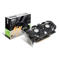Placa de Video NVIDIA GeForce GTX 1050 Ti 4 GB GDDR5 128 Bits MSI GTX 1050 Ti 4GT OC