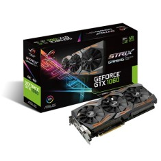 Foto Placa de Video NVIDIA GeForce GTX 1060 6 GB GDDR5 192 Bits Asus STRIX-GTX1060-O6G-GAMING