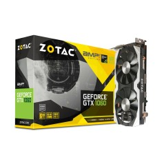 Placa de Video NVIDIA GeForce GTX 1060 6 GB GDDR5 192 Bits Zotac ZT-P10600B-10M