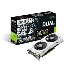 Placa de Video NVIDIA GeForce GTX 1070 8 GB GDDR5 256 Bits Asus DUAL-GTX1070-O8G