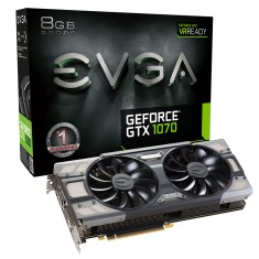 Foto Placa de Video NVIDIA GeForce GTX 1070 8 GB GDDR5 256 Bits EVGA 08G-P4-6274-KR