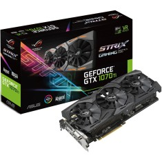 Foto Placa de Video NVIDIA GeForce GTX 1070 Ti 8 GB GDDR5 256 Bits Asus ROG-STRIX-GTX1070TI-A8G-GAMING