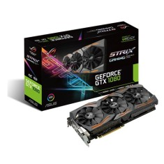 Placa de Video NVIDIA GeForce GTX 1080 8 GB GDDR5X 256 Bits Asus STRIX-GTX1080-8G-Gaming
