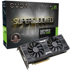 Foto Placa de Video NVIDIA GeForce GTX 1080 8 GB GDDR5X 256 Bits EVGA 08G-P4-5186-KR