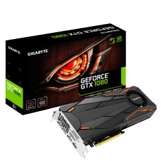 Placa de Video NVIDIA GeForce GTX 1080 8 GB GDDR5X 256 Bits Gigabyte GV-N1080TTOC-8GD