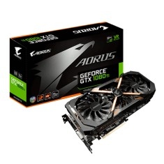 Placa de Video NVIDIA GeForce GTX 1080 Ti 11 GB GDDR5X 352 Bits Aorus GV-N108TAORUS-11GD