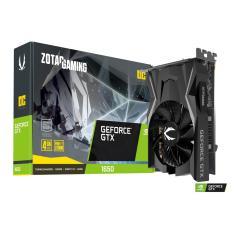 Placa de Video NVIDIA GeForce GTX 1650 4 GB GDDR5 128 Bits Zotac ZT-T16500F-10L