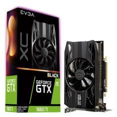Placa de Video NVIDIA GeForce GTX 1660 Ti 6 GB GDDR6 192 Bits EVGA 06G-P4-1261-KR