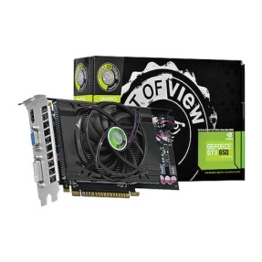 Foto Placa de Video NVIDIA GeForce GTX 650 1 GB GDDR5 128 Bits Point Of View VGA-650-C1-1024
