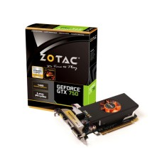 Foto Placa de Video NVIDIA GeForce GTX 750 1 GB GDDR5 128 Bits Zotac ZT-70702-10M