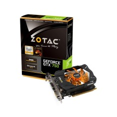Foto Placa de Video NVIDIA GeForce GTX 750 2 GB GDDR5 128 Bits Zotac ZT-70704-10M