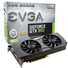 Foto Placa de Video NVIDIA GeForce GTX 950 2 GB GDDR5 128 Bits EVGA 02G-P4-2956-KR
