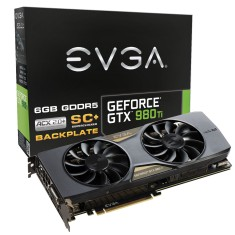 Foto Placa de Video NVIDIA GeForce GTX 980 Ti 6 GB GDDR5 384 Bits EVGA 06G-P4-4995-KR