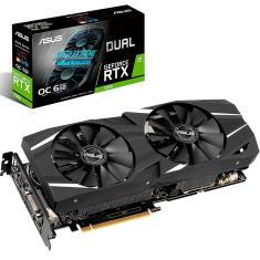 Placa de Video NVIDIA GeForce RTX 2060 6 GB GDDR6 192 Bits Asus DUAL-RTX2060-O6G