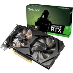 Foto Placa de Video NVIDIA GeForce RTX 2060 6 GB GDDR6 192 Bits Galax 26NRL7HPX7OC