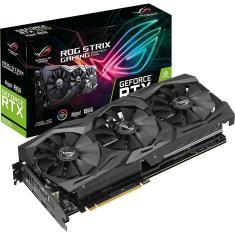 Placa de Video NVIDIA GeForce RTX 2070 8 GB GDDR6 256 Bits Asus ROG-STRIX-RTX2070-A8G-GAMING