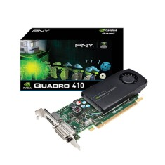 Foto Placa de Video NVIDIA Quadro 410 512 MB DDR3 64 Bits PNY VCQ410-PORPB