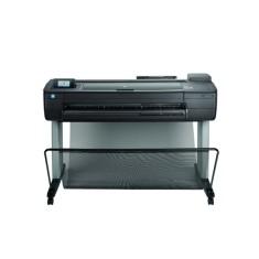 Plotter HP Designjet T730 36 polegadas Jato de Tinta Colorida Sem Fio