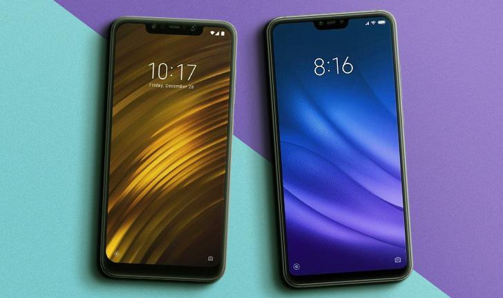 Pocophone F1 vs Xiaomi Mi 8 Lite: um embate entre celulares da Xiaomi