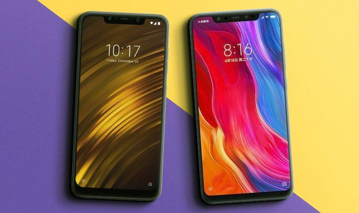 Pocophone F1 vs Xiaomi Mi 8: qual o melhor celular top de linha da Xiaomi?