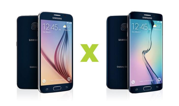 Qual a diferença entre o Samsung Galaxy S6 e o S6 Edge?