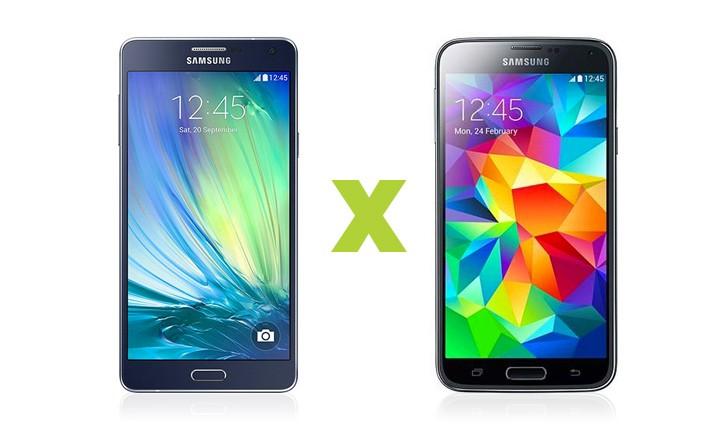 Qual é melhor: Samsung Galaxy A7 ou Galaxy S5?