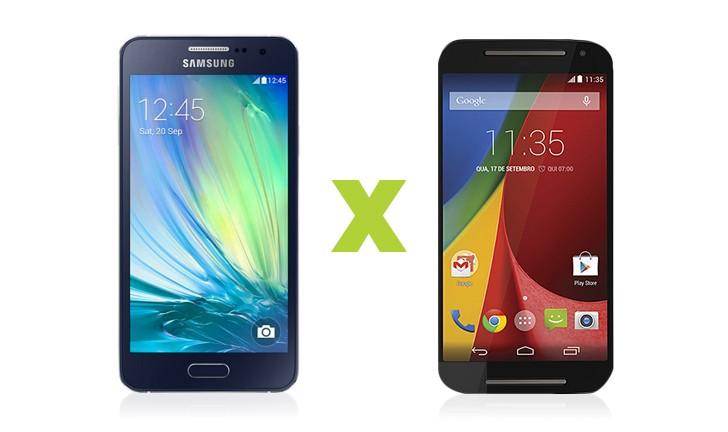 Quem leva a melhor: Samsung Galaxy A3 ou Moto G 2ª Geração?
