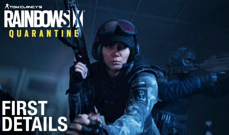 Rainbow Six Quarantine é anunciado para PS4, Xbox One e PC