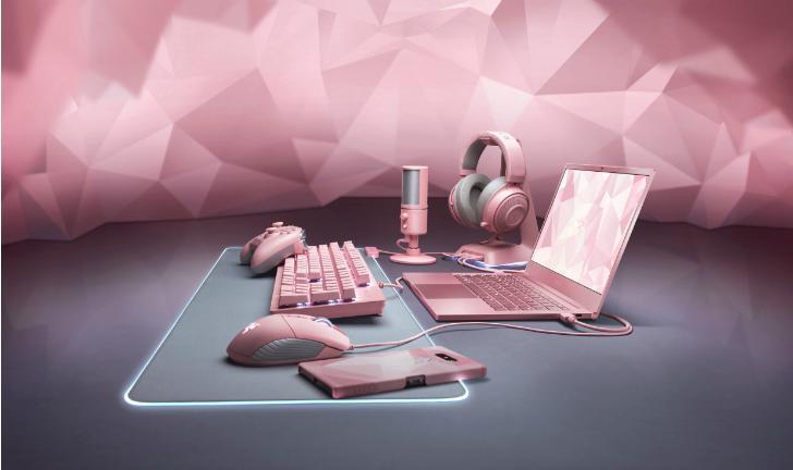 Razer Quartz: empresa lança diversos novos produtos na cor rosa
