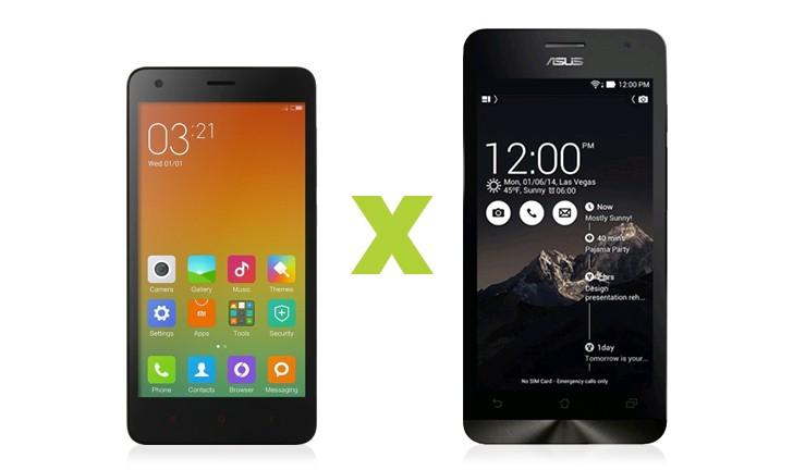 Redmi 2 vs Zenfone 5: a disputa de smartphones intermediários