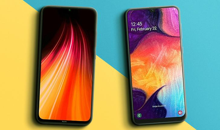 Redmi Note 8 vs Galaxy A50: qual é o melhor celular intermediário?