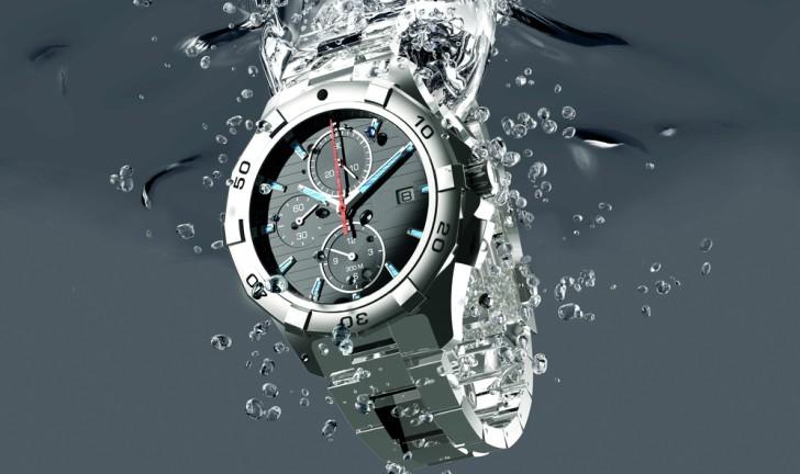 Relógio à prova d'água e resistente à água: qual a diferença?