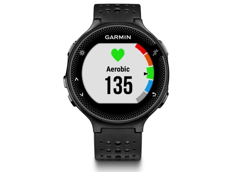9d50ea9c0ef Relógio Monitor Cardíaco Garmin Forerunner 235