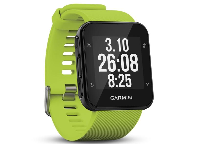 1fafd191a Relógio Monitor Cardíaco Garmin Forerunner 35