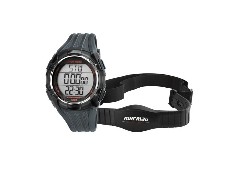 Relógio Monitor Cardíaco Mormaii MO11558A 8 d2d2953348