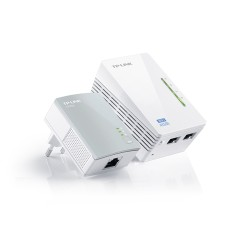 Repetidor Powerline Wireless 300 Mbps TL-WPA4220KIT - TP-Link