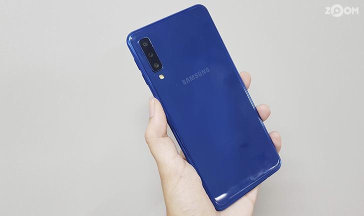 Review Samsung Galaxy A7 2018: câmera tripla e bom custo/benefício em 2019