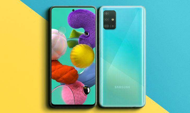 Samsung anuncia Galaxy A51 e A71 com quatro câmeras e tela Infinity-O